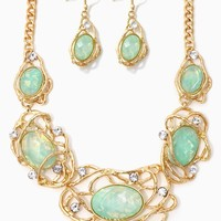 Cast Opal Necklace Set | Jewelry | charming charlie