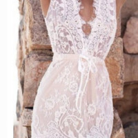 FASHION LACE CUTE DRESS