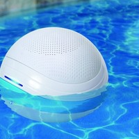 GoodTimes GT-ORB1 Wireless Bluetooth Floating Sound System for Pools, Ponds, or Other Water Features