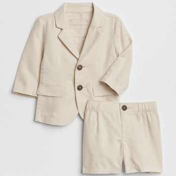 Two-Piece Short Suit in Linen | Gap