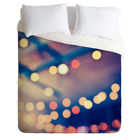 Shannon Clark Pretty Lights Duvet Cover