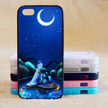 Aladdin's Lamp,Princess, Custom Case, iPhone 4/4s/5/5s/5C, Samsung Galaxy S2/S3/S4/S5/Note 2/3, Htc One S/M7/M8, Moto G/X