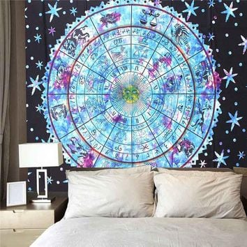 DCCKJG2 150x200cm Indian Mandala Tapestry Wall Hanging Bedspread Beach Towel Blanket Yoga Mat Tablecloth Home Decoration Beautiful