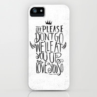 Oh Please Don't Go... iPhone & iPod Case by Matthew Taylor Wilson