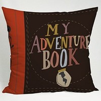My Adventure Book Carl and Ellie Pillow Case (16x16 one side)