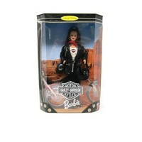 Harley Davidson Barbie Doll Collector Edition 1998, 3rd in Series Harley-Davidson Barbie Brunette