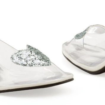 ariel (clear) adult shoes - 10