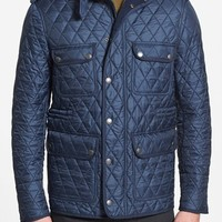 Men's Burberry Brit 'Russell' Quilted Field Jacket