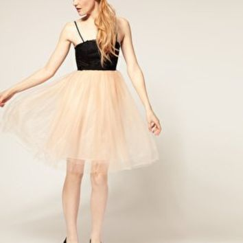 ASOS | ASOS Tutu Dress with Lace Bodice at ASOS