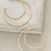 Curved Crescent Hoops by Anthropologie
