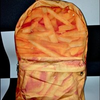 Bag: fries backpack backpack fries french fries
