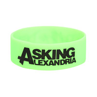 Asking Alexandria Death Destiny Rubber Bracelet | Hot Topic