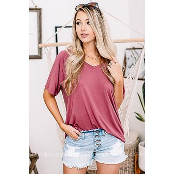Just A Moment Basic Top | Rust