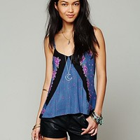 Free People Mixed Print Tank