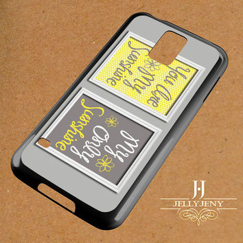 Yellow Gray You Are My Sunshine Two Samsung Galaxy S3 S4 S5 S6 S6 Edge Case | Galaxy Note 3 4 Case