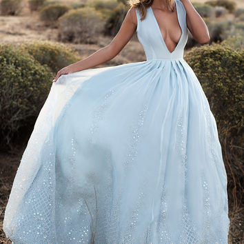 BELLE GOWN (BLUE)