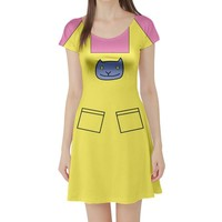 Kimmi Rugrats Inspired Short Sleeve Skater Dress