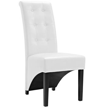Preside Dining Side Chair in White