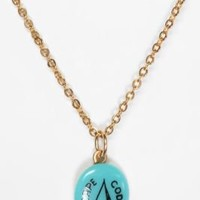 UrbanOutfitters.com > Diament Jewelry for Urban Renewal Vintage Sailboat Charm Necklace