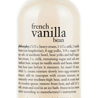 philosophy 'french vanilla bean' shampoo, shower gel & bubble bath, 16 oz