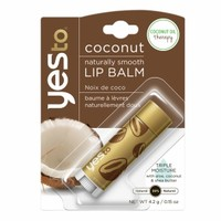 Yes to Coconut Naturally Smooth Lip Balm, Coconut