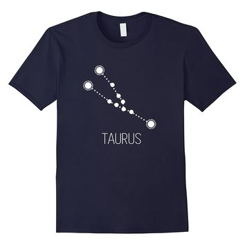 Zodiac Sign Cool Constellation Taurus Symbol Tshirt