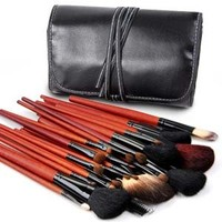Pro 30pcs Make Up makeup Brushes Set with Black Case UK