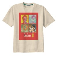 Retro The Beatles Rock and Roll Band T-Shirt Tee Organic Cotton Vintage Look Size S M L