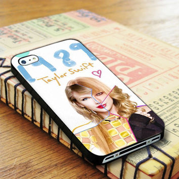 Taylor Swift Cover Album Music Singer 1989 iPhone 4 | iPhone 4S Case