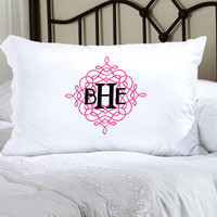 Felicity Wistful Monogram Pillow Case - WM 4