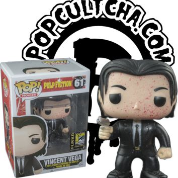 Pulp Fiction - Vincent Vega Blood Splatter Pop! Vinyl Figure (SDCC 2014 Exclusive)