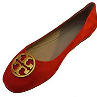 Tory Burch Chelsea Ballet Flat Sandal Suede