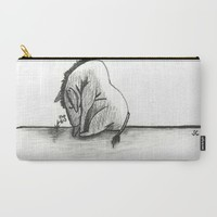 Eeyore Carry-All Pouch by Sierra Christy Art