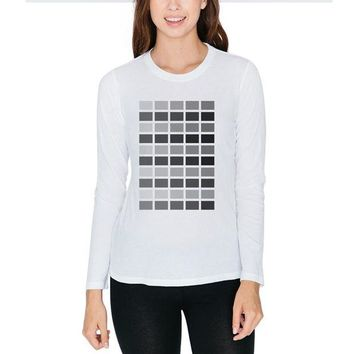 DCCKU3R Valentine's Day 50 Shades of Grey Juniors Long Sleeve T-Shirt