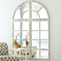 Grand Chateau Window Mirror | Ballard Designs