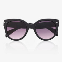 Squared Cat Eye Retro Sunglasses from EXPRESS