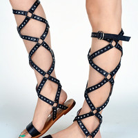 New Summer Lace Up Sandals = 4777191684