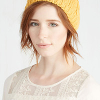 Boho Bring It Dawn Hat in Sunrise by ModCloth