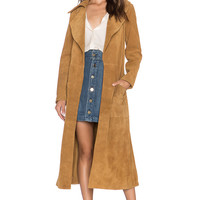 FRAME Denim Le Duster in Camel