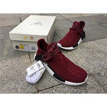 Adidas N M D red while Basketball Shoes 40-46