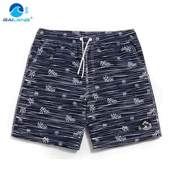 GL Brand Cool Board Shorts Men Fast Drying Water Sport Surf Beach Shorts Polyester Plus Size Mens Summer Man Swim Shorts