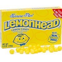 Lemonhead Candy Theater Size Packs: 12-Piece Box