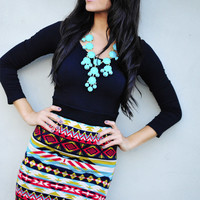 RESTOCK Flirting With A Fashionista Top: Black   Hope's