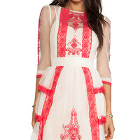 Alice by Temperley Botanical Dress in Blush