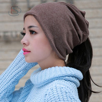 Hot Sale Winter Warm Crochet Cap Casual Sports Hat Braided Baggy Knit Hat = 1958032132