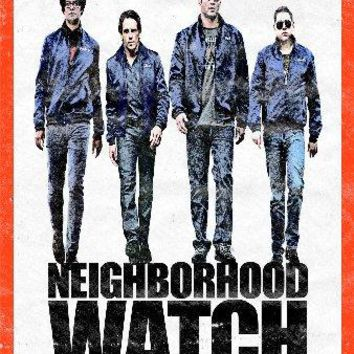 Neighborhood Watch Mini Movie Poster 11 inch x 17 inch