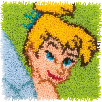 "Tinkerbell Disney Latch Hook Kit 12""X12"""