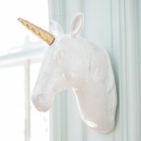 Emily + Meritt Unicorn Wall Mount