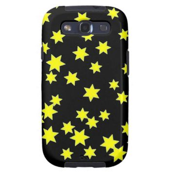 Yellow Stars Galaxy S3 Cover