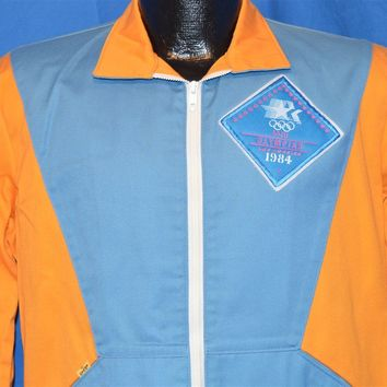 80s Olympics Staff 1984 Windbreaker Jacket Medium